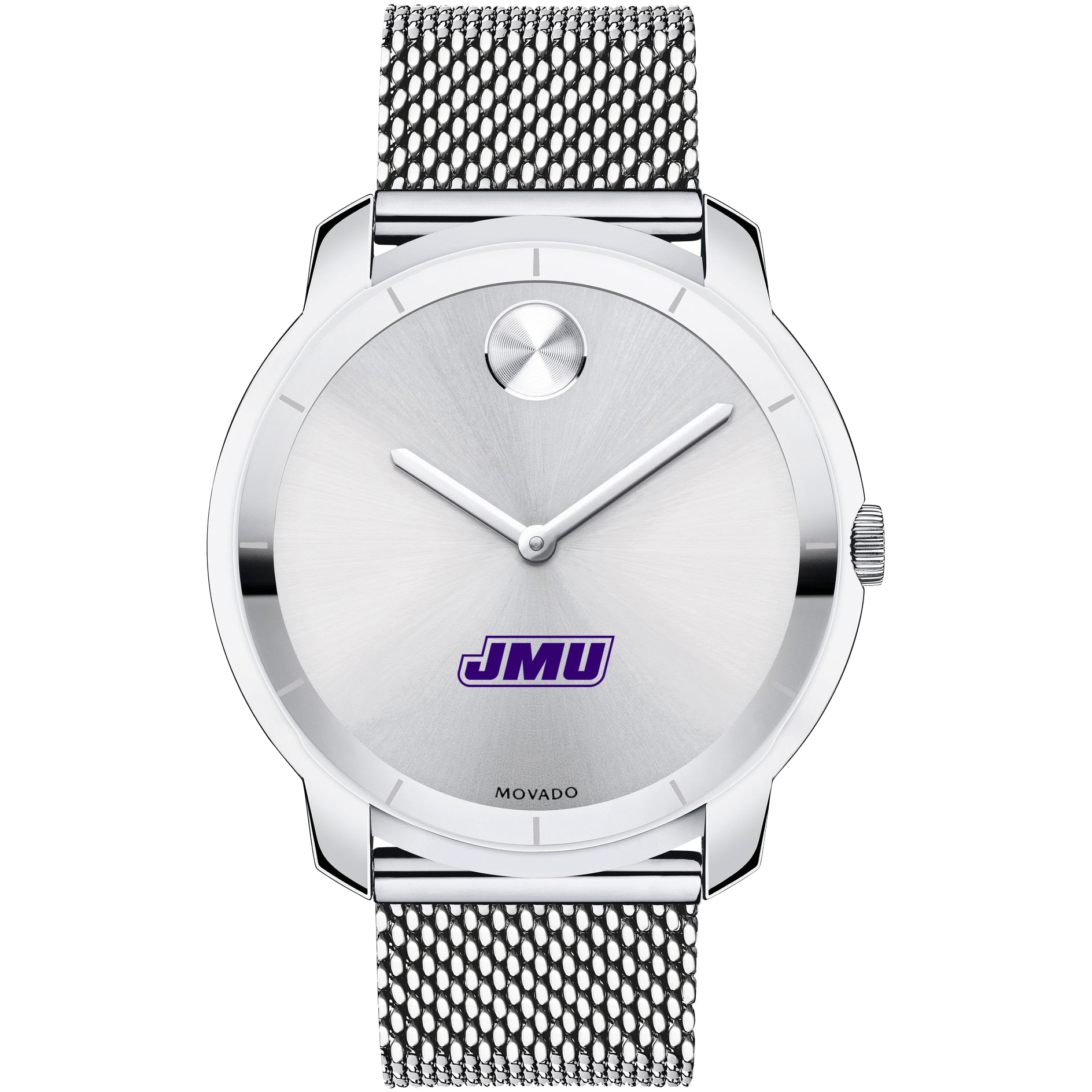 James Madison Men's Movado Stainless Bold 44 - Image 2