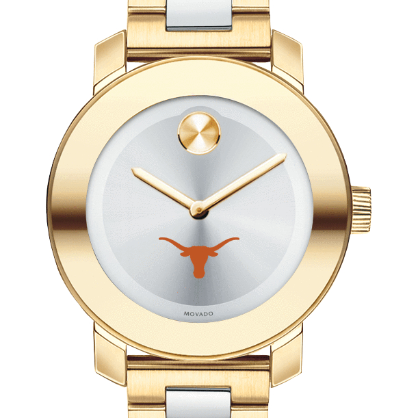 Texas Women's Movado Two-Tone Bold