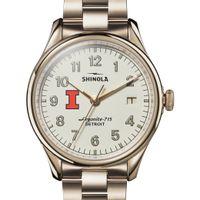 Illinois Shinola Watch, The Vinton 38mm Ivory Dial
