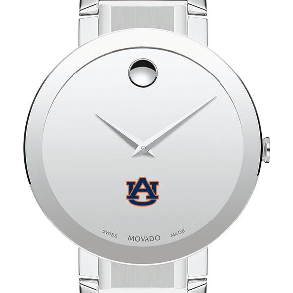 Auburn University Men's Movado Sapphire Museum with Bracelet