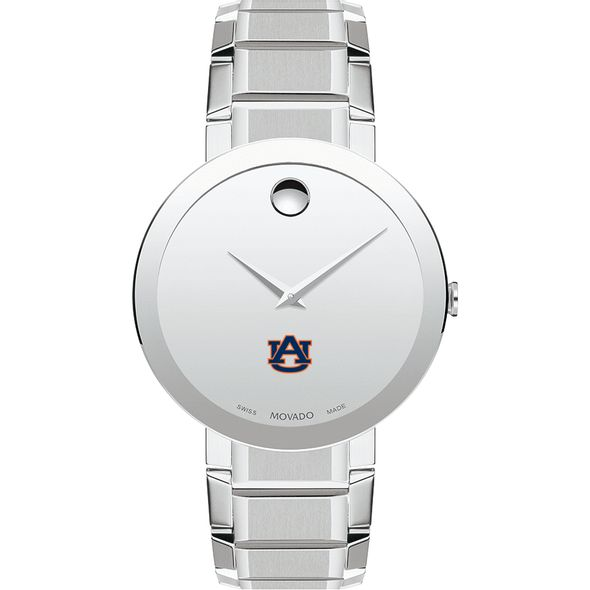 Auburn University Men's Movado Sapphire Museum with Bracelet - Image 2