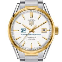 George Washington Men's TAG Heuer Two-Tone Carrera with Bracelet