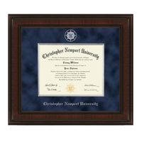 Christopher Newport University Diploma Frame - Excelsior