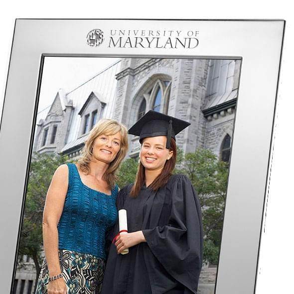Maryland Polished Pewter 8x10 Picture Frame - Image 2
