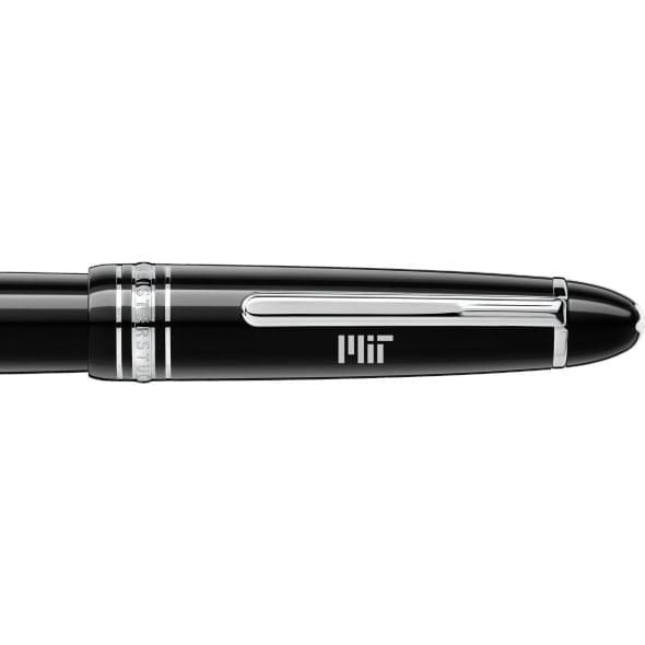 MIT Montblanc Meisterstück LeGrand Fountain Pen in Platinum - Image 2