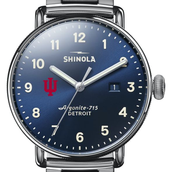 Indiana Shinola Watch, The Canfield 43mm Blue Dial - Image 1
