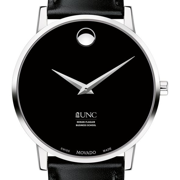 UNC Kenan-Flagler Men's Movado Museum with Leather Strap
