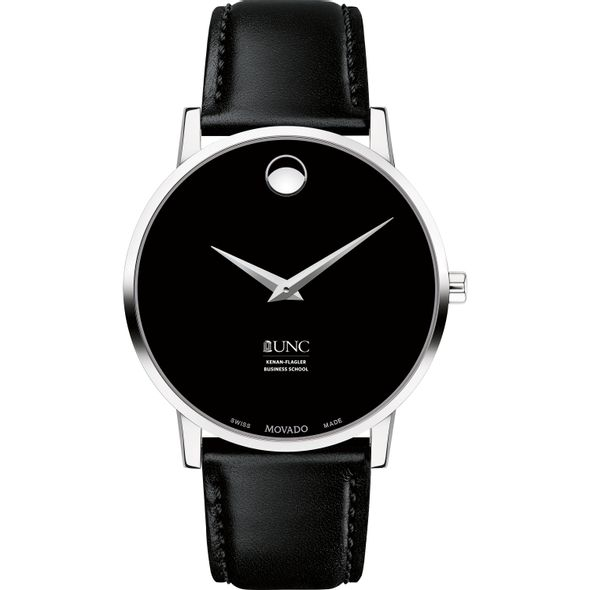 UNC Kenan-Flagler Men's Movado Museum with Leather Strap - Image 2