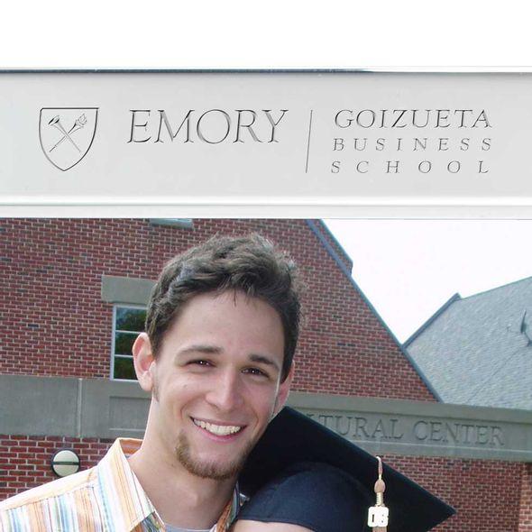 Emory Goizueta Polished Pewter 5x7 Picture Frame - Image 2