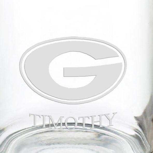 University of Georgia 13 oz Glass Coffee Mug - Image 3