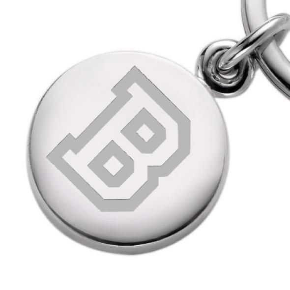 Bucknell Sterling Silver Insignia Key Ring - Image 2