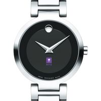 New York University Women's Movado Museum with Steel Bracelet