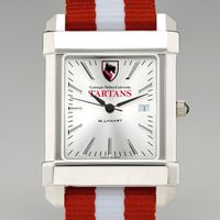 Carnegie Mellon University Collegiate Watch with NATO Strap for Men