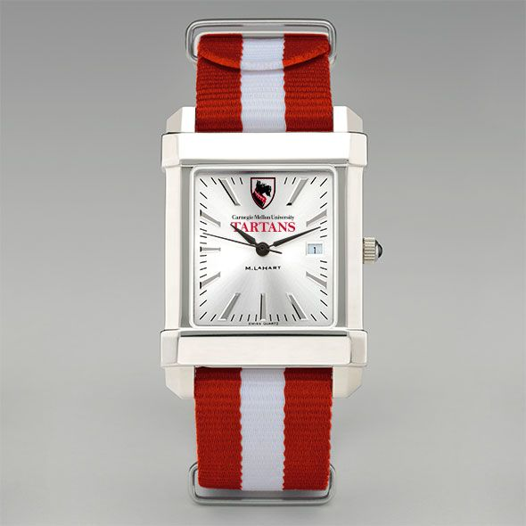 Carnegie Mellon University Collegiate Watch with NATO Strap for Men - Image 2