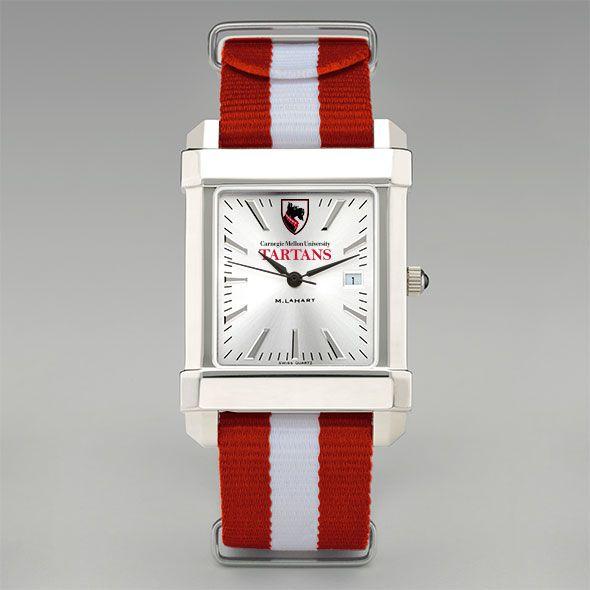 Carnegie Mellon University Collegiate Watch with NATO Strap for Men - Image 2