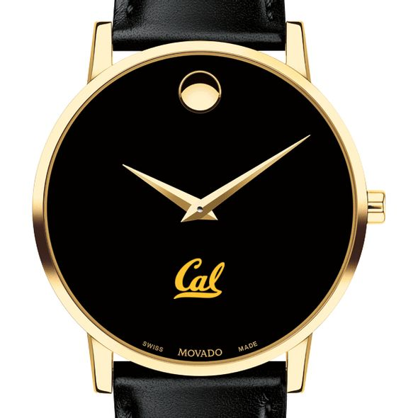 Berkeley Men's Movado Gold Museum Classic Leather - Image 1