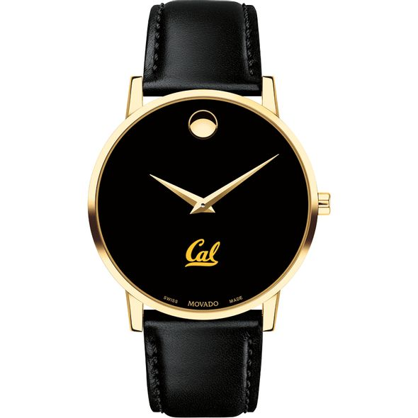 Berkeley Men's Movado Gold Museum Classic Leather - Image 2