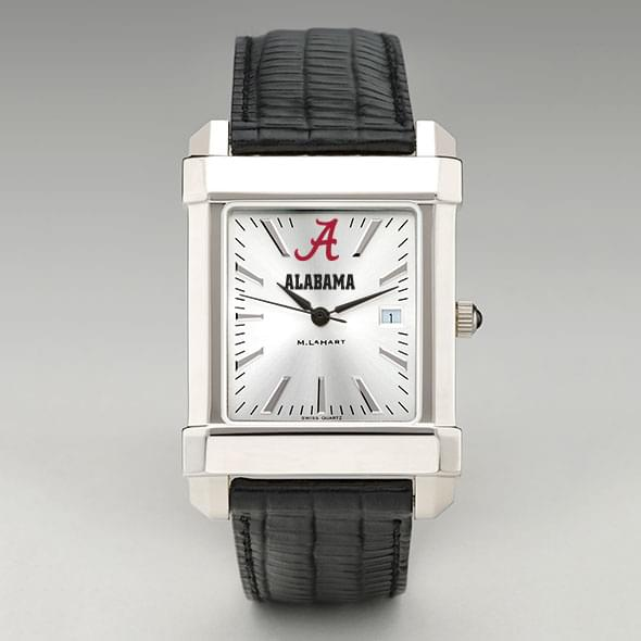 Alabama Men's Collegiate Watch with Leather Strap - Image 2