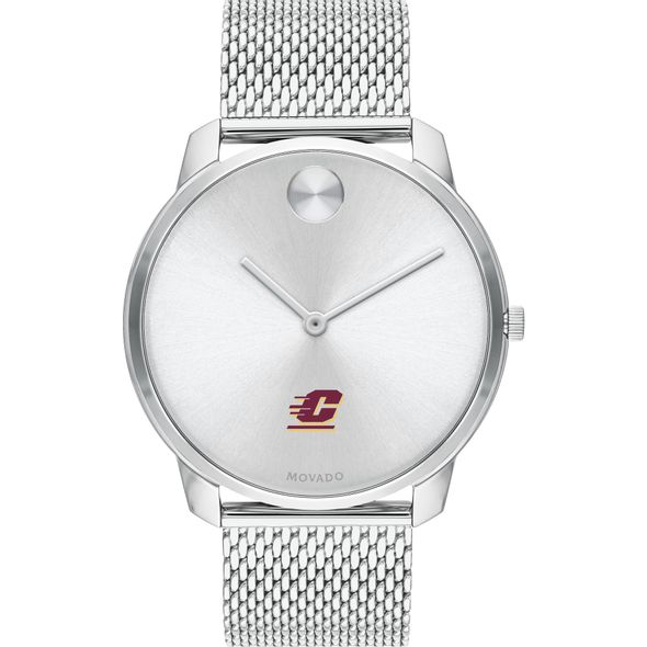 Central Michigan University Men's Movado Stainless Bold 42 - Image 2