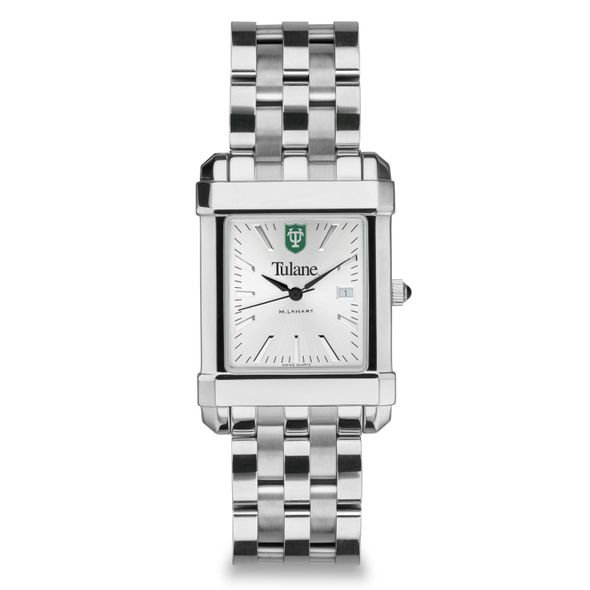 Tulane Men's Collegiate Watch w/ Bracelet - Image 2