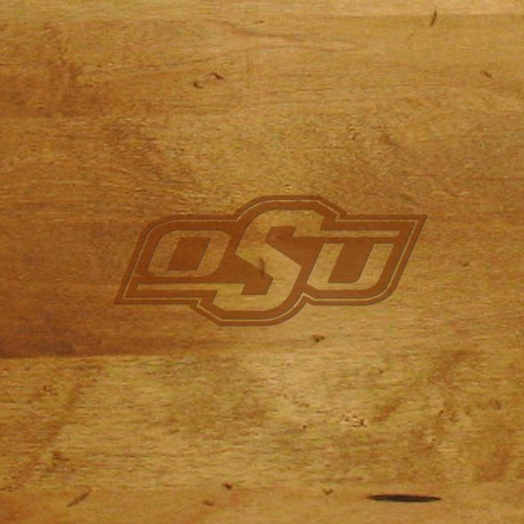 Oklahoma State University Round Bread Server - Image 2