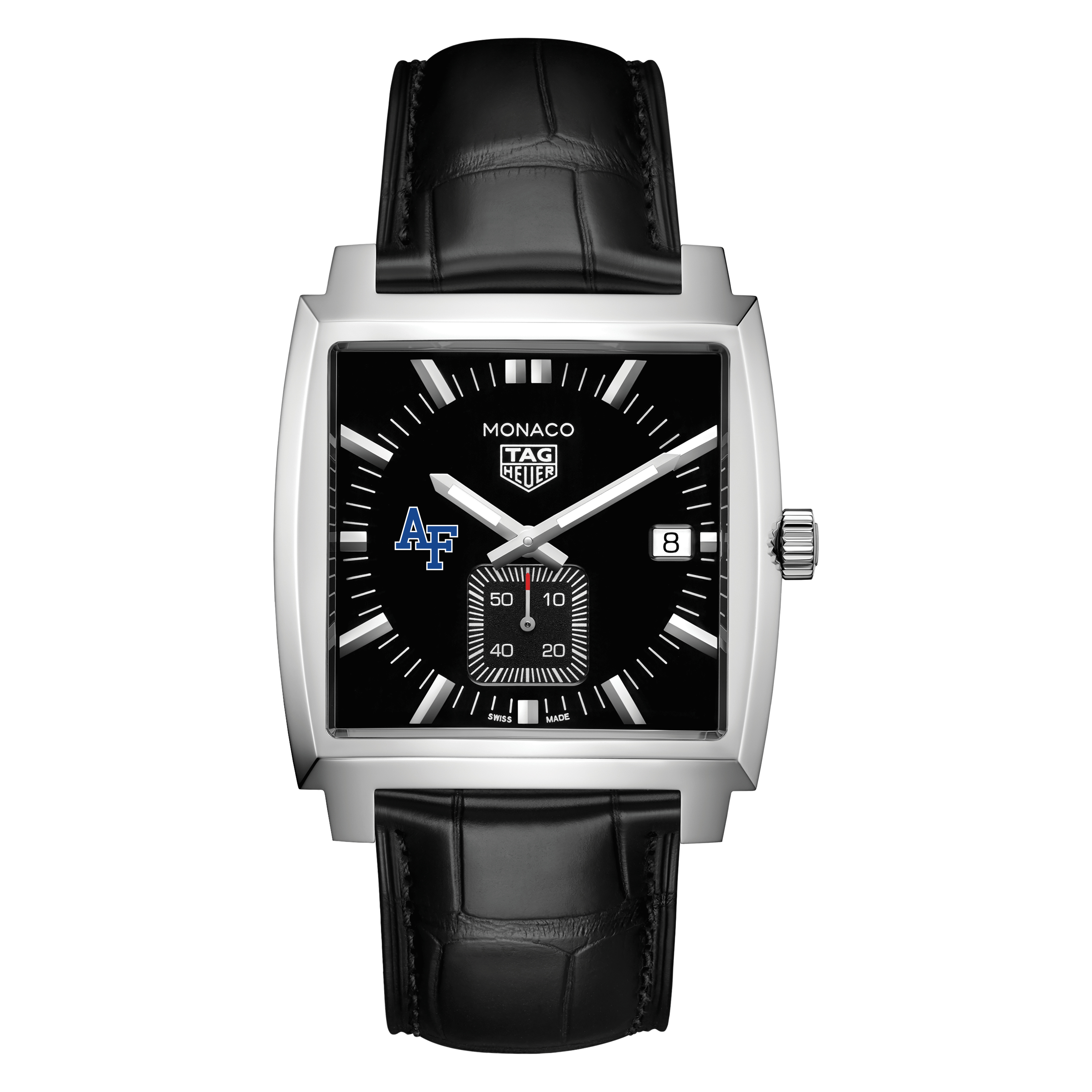 US Air Force Academy TAG Heuer Monaco with Quartz Movement for Men - Image 2