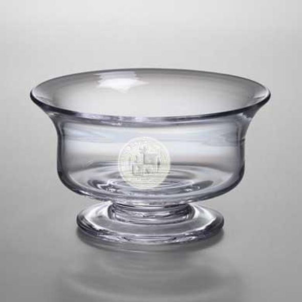 Virginia Tech Medium Glass Revere Bowl by Simon Pearce