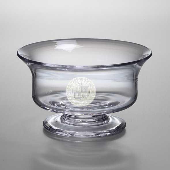 Virginia Tech Medium Glass Revere Bowl by Simon Pearce - Image 2