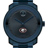 University of Georgia Men's Movado BOLD Blue Ion with Bracelet