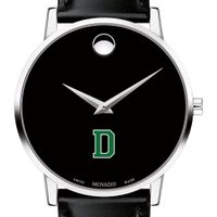 Dartmouth College Men's Movado Museum with Leather Strap