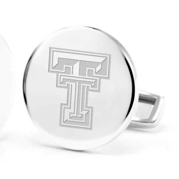 Texas Tech Cufflinks in Sterling Silver - Image 2
