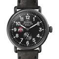 Ohio State Shinola Watch, The Runwell 41mm Black Dial - Image 1