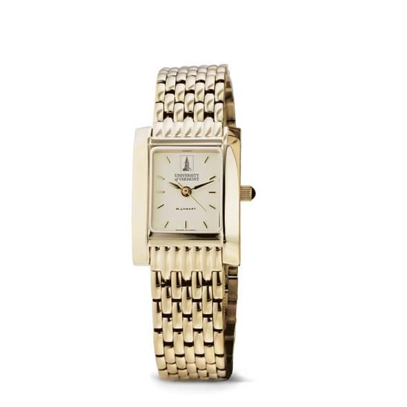 UVM Women's Gold Quad Watch with Bracelet - Image 2