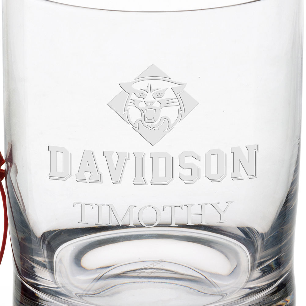 Davidson College Tumbler Glasses - Set of 4 - Image 3