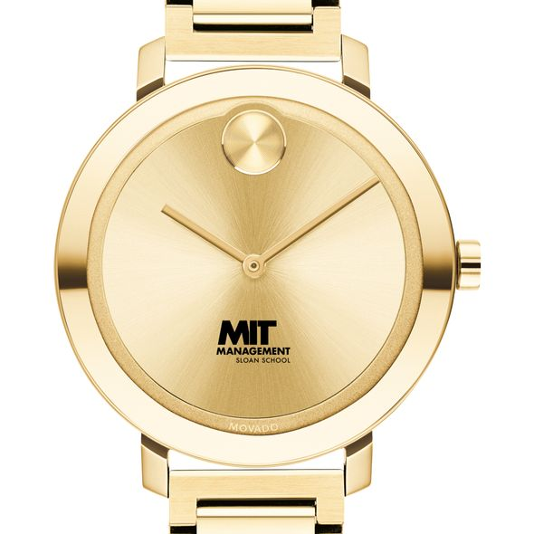 MIT Sloan School of Management Women's Movado Gold Bold 34 - Image 1
