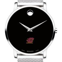 Central Michigan University Men's Movado Museum with Mesh Bracelet