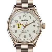Trinity Shinola Watch, The Vinton 38mm Ivory Dial