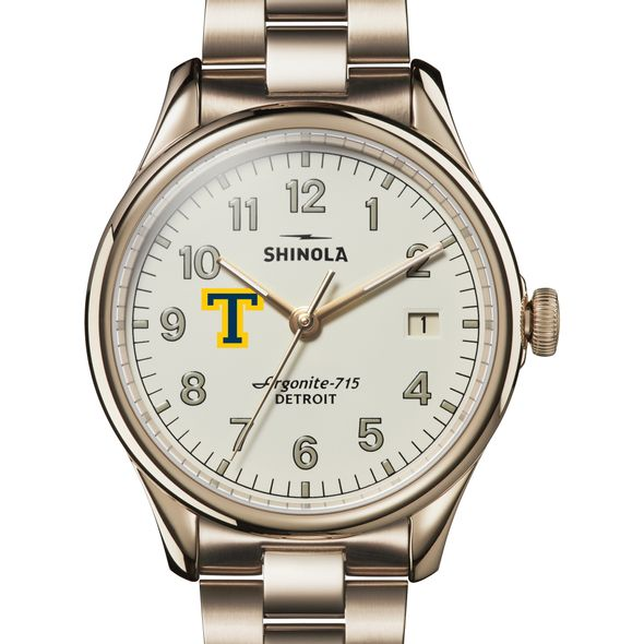 Trinity Shinola Watch, The Vinton 38mm Ivory Dial