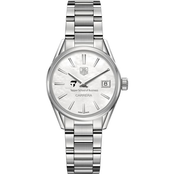 Tepper Women's TAG Heuer Steel Carrera with MOP Dial - Image 2