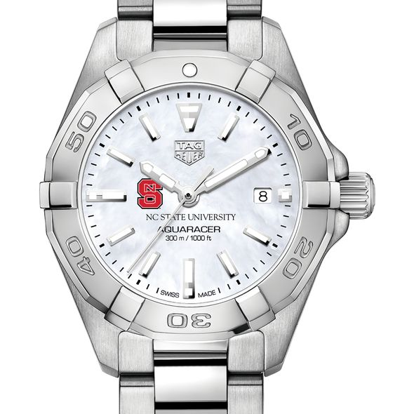 North Carolina State Women's TAG Heuer Steel Aquaracer w MOP Dial