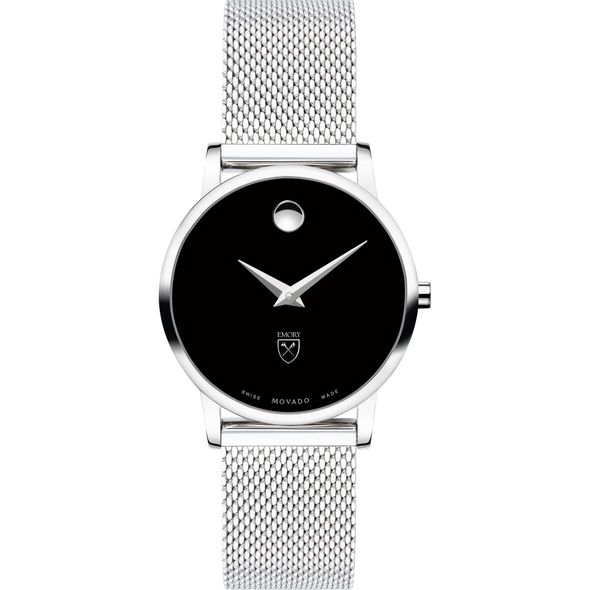 Emory University Women's Movado Museum with Mesh Bracelet - Image 2