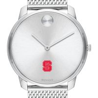 North Carolina State Men's Movado Stainless Bold 42