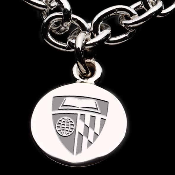 Johns Hopkins Sterling Silver Charm Bracelet - Image 2