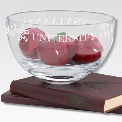 "Penn 10"" Glass Celebration Bowl"