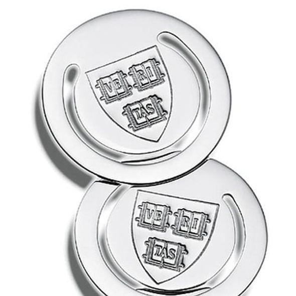 Harvard Sterling Silver Bookmark