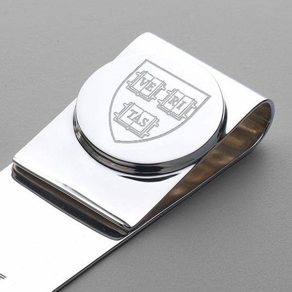 Harvard Sterling Silver Money Clip - Image 2