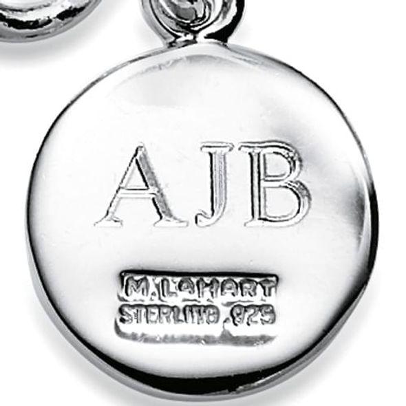 Harvard Sterling Silver Insignia Key Ring - Image 3