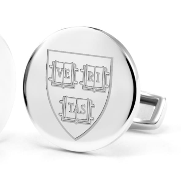 Harvard University Cufflinks in Sterling Silver - Image 2