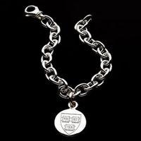 Harvard Sterling Silver Charm Bracelet