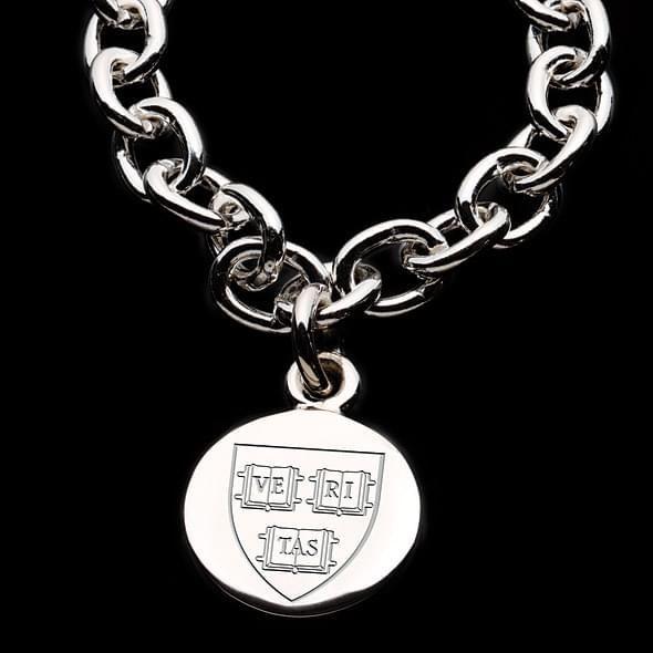 Harvard Sterling Silver Charm Bracelet - Image 2